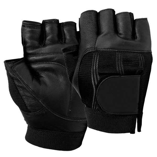 Leather-Fitness-gym-gloves