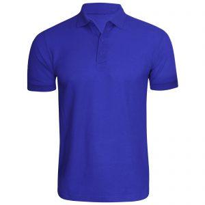 Dark Blue Men Polo T shirt