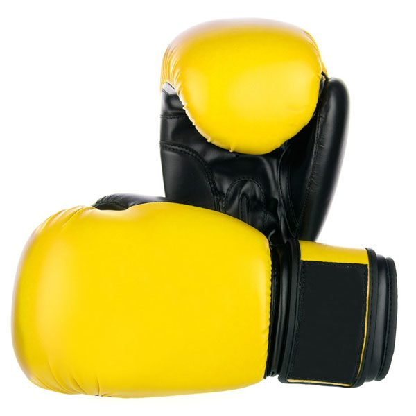 Yellow-Boxing-Gloves