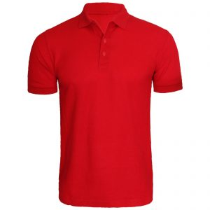 Red Polo T shirt for Men