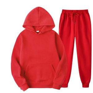 Ladies-Cotton-Polyester-Tracksuit