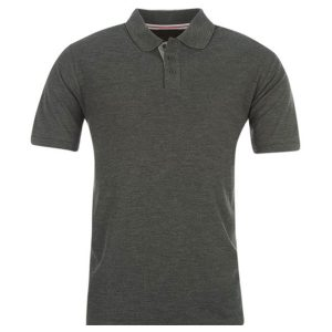 Grey-Cottton-Polo-Shirt
