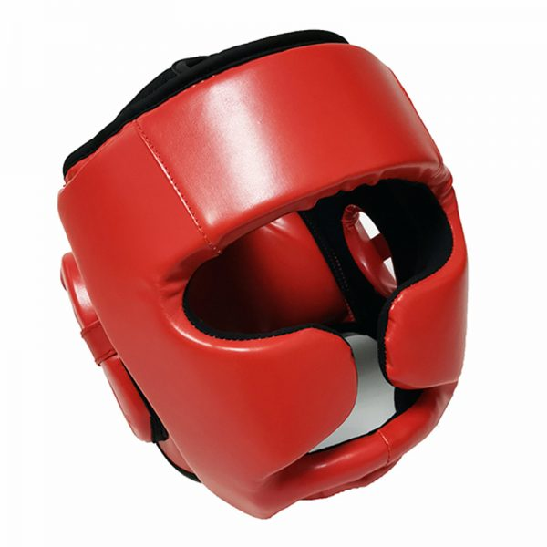 Professional-Red-Boxing-Headgear