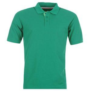 Sea-Green-Cotton-Polo-Shirt