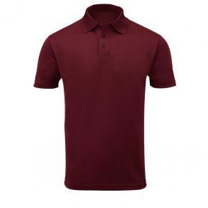 Maroon-Cotton-Polo-Shirt